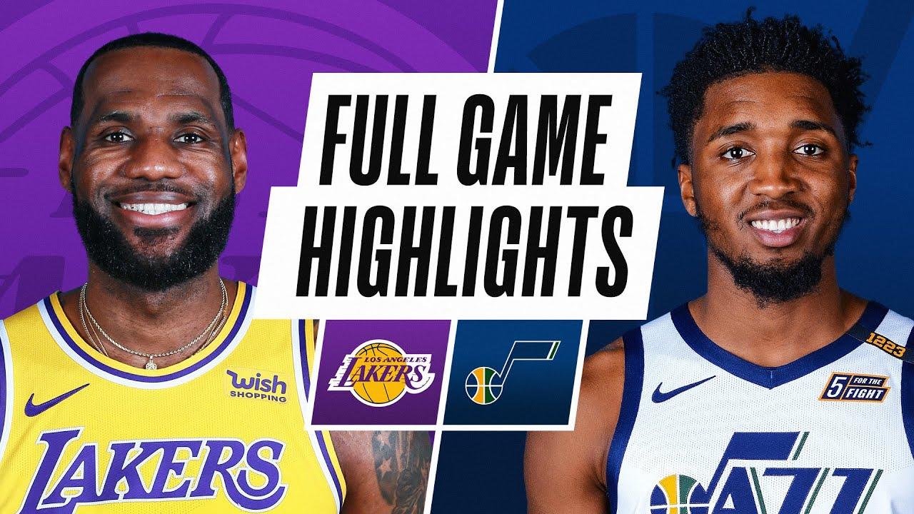Lakers vs. Jazz - Game Recap - February 24, 2021 - ESPN