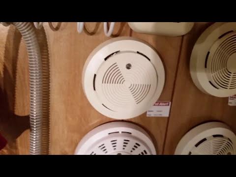 Smoke Detector Display Wall - Final Product