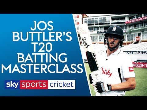 Jos Buttler T20 Batting Masterclass | The basics of being a world class batsman!