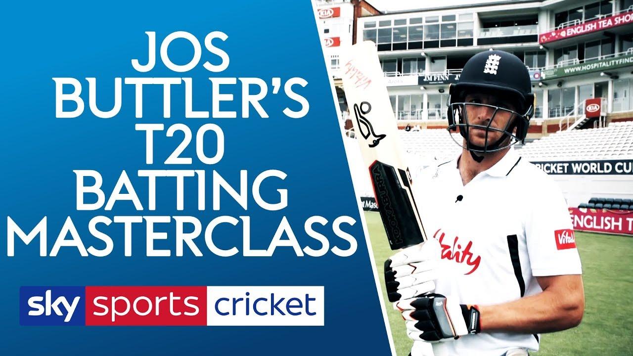 Jos Buttler T20 Batting Masterclass | The basics of being a world class batsman!