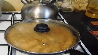 Готовлю обед Очень вкусные спагетти Куриные котлеты в подливе