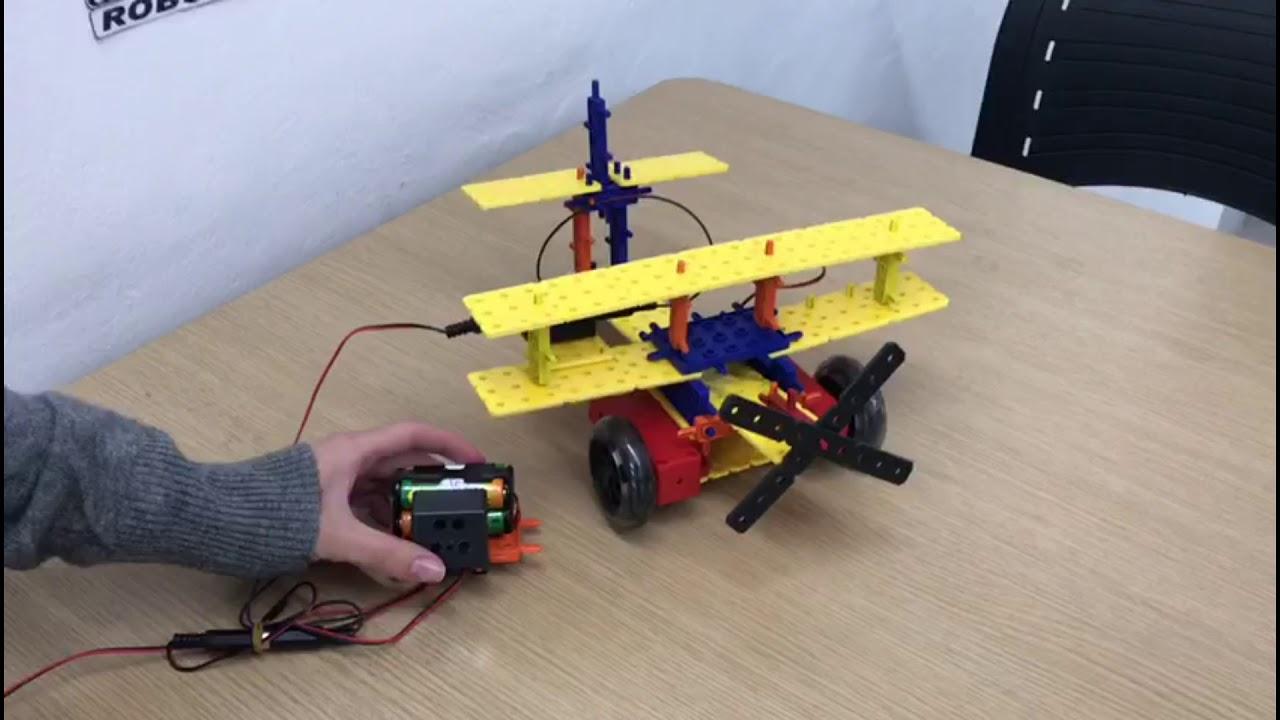 Robótica Educacional - Avião