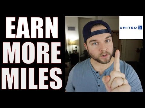 17 WAYS to EARN MORE AIR MILES - United Airlines