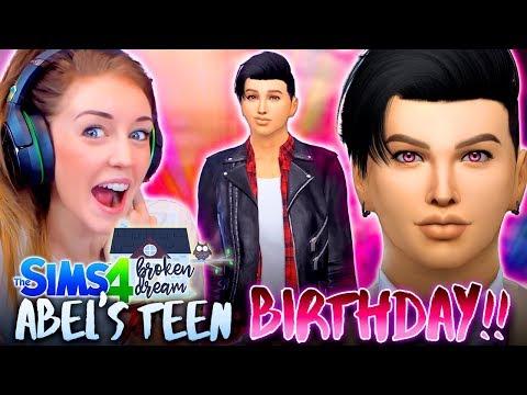 TEEN ABEL IS 🔥🔥🔥 (The Sims 4 - BROKEN DREAM #6! 🏚)