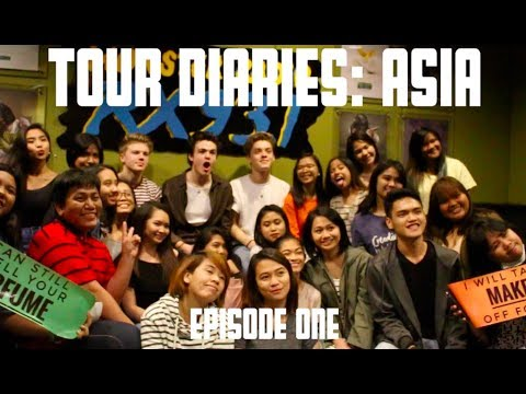 New Hope Club - Tour Diaries: First day in Manila!!
