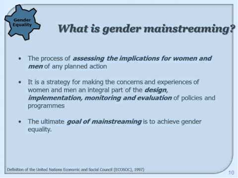 How to integrate gender equality and human rights in evaluation?