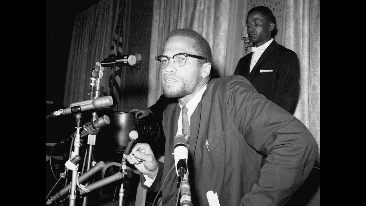 Malcolm X : Lecture on Black American Culture/History  Jan 1965