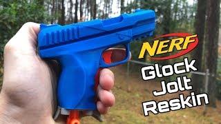 3D Printed Nerf Jolt Glock Reskin