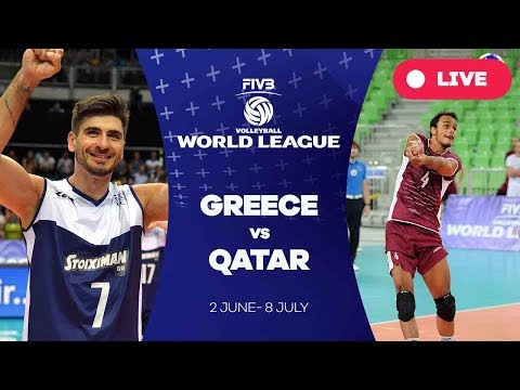 Greece v Qatar - Group 3: 2017 FIVB Volleyball World League