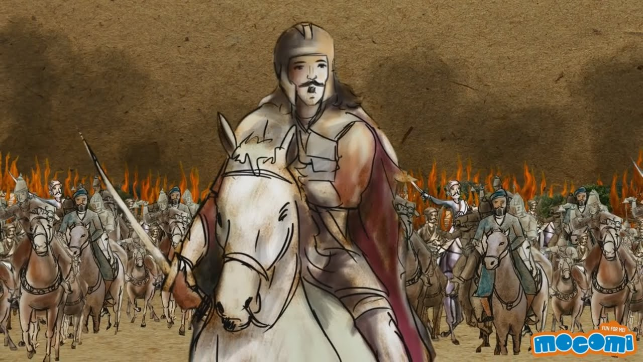 Ashoka the Great - Kings of India | History for Kids | Educational Videos by Mocomi - YouTube