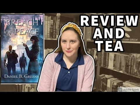Breach of Peace Book Review and Book Twitter Tea on Daniel Greene