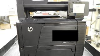 Видео How to replace a fuser on an HP LaserJet Pro 400 MFP M425dn (автор: Jay Groh)