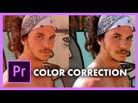 How To Color Correct And Grade In Adobe Premiere Pro CC (Lumetri Scopes, Skin Tone, White Balance)
