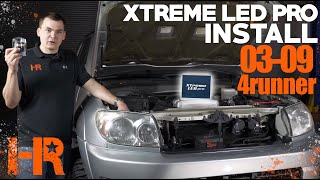 The Easiest Install We Have Ever Done | 2003-2009 4Runner Xtreme LED Pro Install