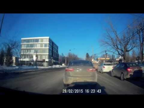 Daily observations/Bad driving Quebec 8