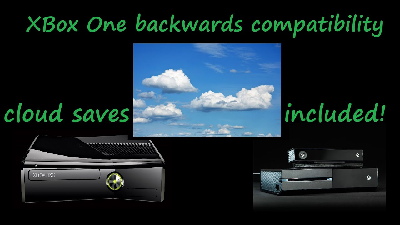 XBox One Backwards Compatible With XBox 360 Game Saves