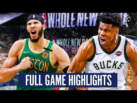 MILWAUKEE BUCKS vs BOSTON CELTICS - FULL GAME HIGHLIGHTS | 2019-20 NBA Season