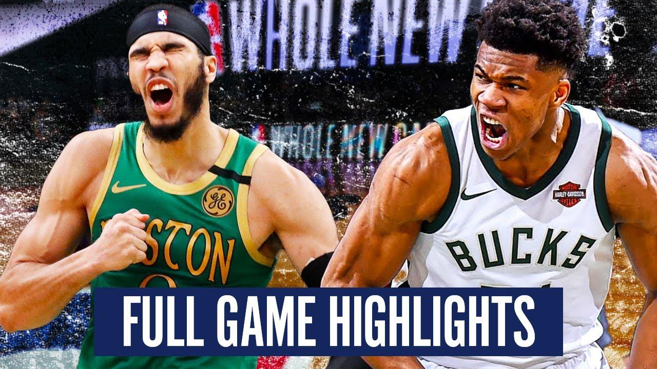 Download MILWAUKEE BUCKS vs BOSTON CELTICS - FULL GAME HIGHLIGHTS   2019-20 NBA Season