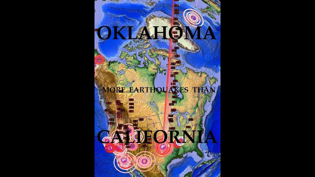 Quake Alert! Reactivated Fault Lines In Oklahoma Could Cause A Major ...