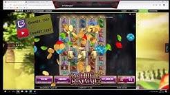 White Rabbit Online Casino Slot paying out Mulitplay 4000x