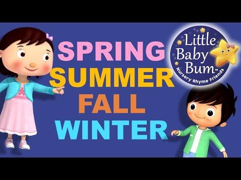 Seasons Song  4 Seasons  Fall Version  Original Song  LittleBaBum!