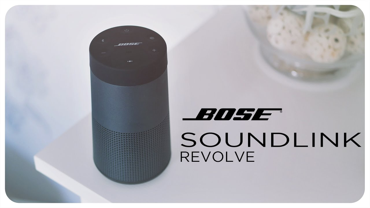 bose soundlink revolve 360 grad lautsprecher unboxing und ersteindruck deutsch youtube. Black Bedroom Furniture Sets. Home Design Ideas
