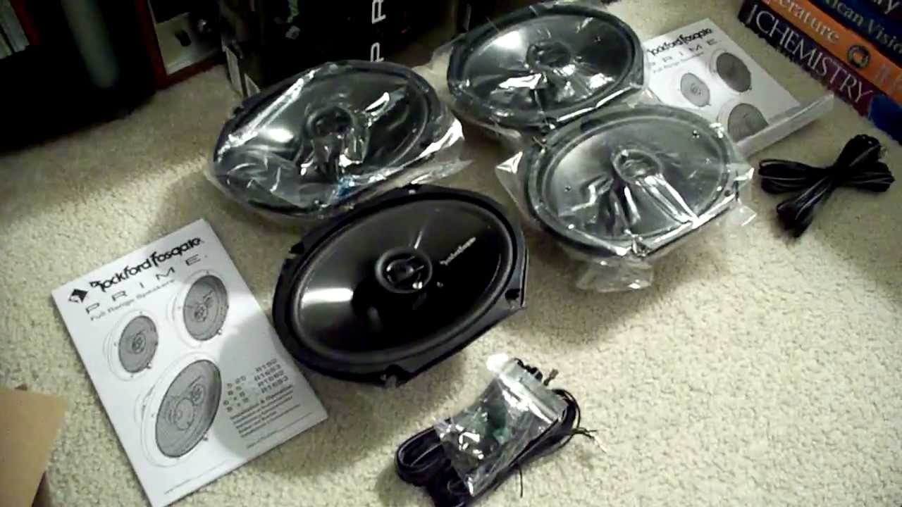 Unboxing: Rockford Fosgate Prime R1682 6x8 Speakers