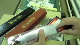 У Сан Сергеича. Японские кухонные ножи.