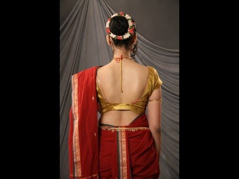 Nauvari Saree || Lavni Saree || Maharashtra Dance Saree