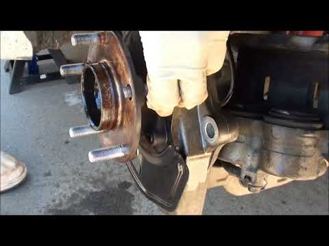 Front Wheel Stud Removal and Install on Infiniti G35 Coupe RWD