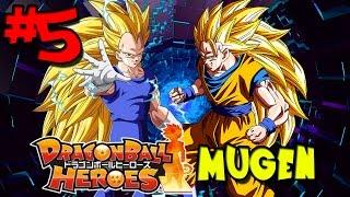 The Power of 2 Super Saiyan 3s! | Dragon Ball Heroes: MUGEN - Episode 5