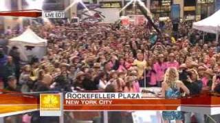 Taylor Swift Love Story live on The Today Show