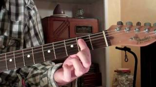 how to play d over e chord on guitar d/e