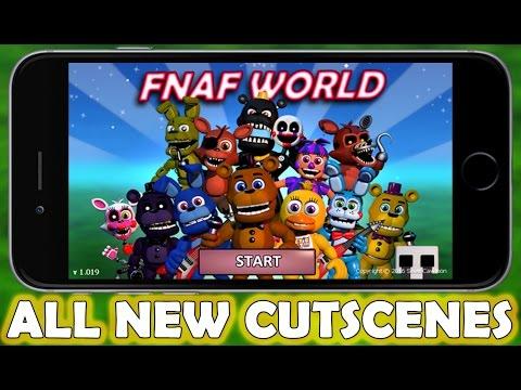 FNAF World - ALL NEW MOBILE EDITION CUTSCENES