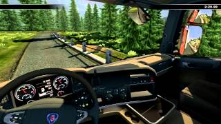 Scania Truck Driving Simulator - GPS PROBLEM! Gameplay