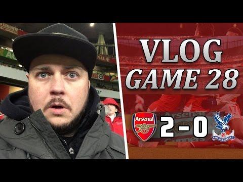 Arsenal 2 v 0 Crystal Palace   Giroud Scores The Goal Of The Season   Matchday Vlog   Game 28