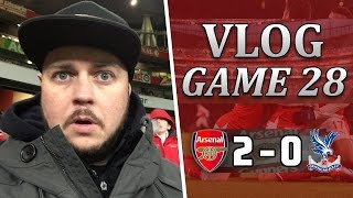 Arsenal 2 v 0 Crystal Palace | Giroud Scores The Goal Of The Season | Matchday Vlog | Game 28