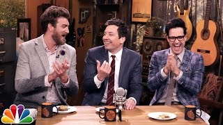 Will It S'more? with Jimmy Fallon, Rhett & Link (Good Mythical Morning) by : The Tonight Show Starring Jimmy Fallon
