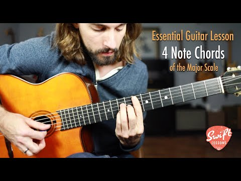 4 Note Chords of the Major Scale - You Need to Know This!