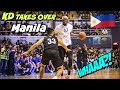 Kevin Durant TAKES OVER & Schools Everyone In Manila, Philippines (2018 Asia Tour Filipino)
