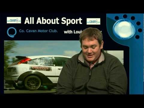 Rory Nash PRO Cavan Motor Club talks to Louise O'Reilly on All About Sport