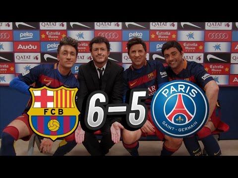 La remontada del Barcelona al PSG vista desde Crackòvia (6-5)