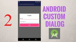 Lập trình Android - Dialog Bài 2: Thiết kế giao diện cho form đăng nhập