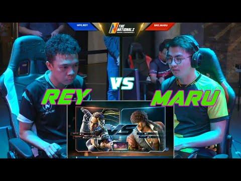 Tekken 7 The Nationals  Conference 1 Rey Vs Maru 2019