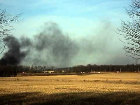 Indiana 105.5 Smoke From Train Collision
