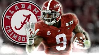 Bo Scarbrough || Scariest Running Back in College Football || Official 2016-17 Alabama Highlights