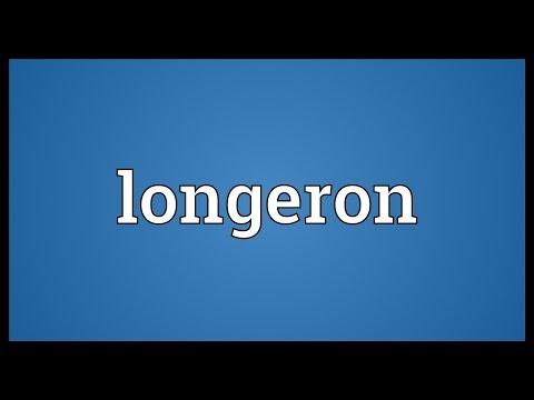 Longeron Meaning