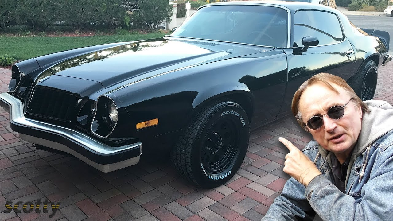 Memorial Muscle Car - 1976 Chevrolet Camaro Restoration