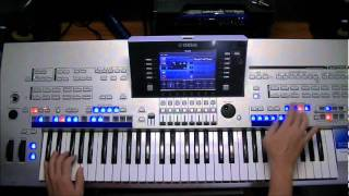 Yamaha Tyros 4  -  Magic Boulevard