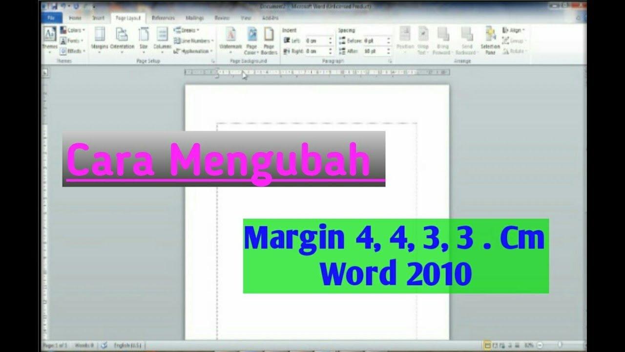 Cara Mengubah Ukuran Foto Di Word 2010 - Berbagai Ukuran